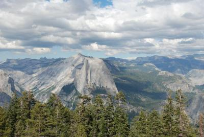 View from Sentinel Dome, Yosemite National Park